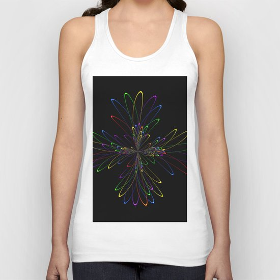 Abstract Perfektion 88 Unisex Tank Top