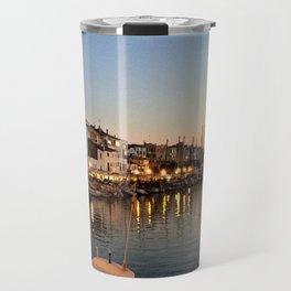 Sunset on Ciutadella Harbor 2 Travel Mug