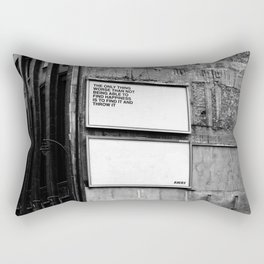Billboard Fantasies #1 Rectangular Pillow