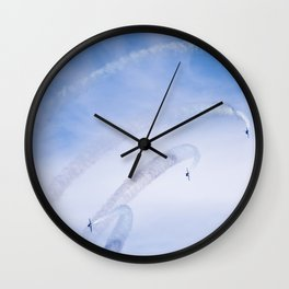 Bank to the Right Wall Clock