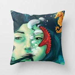 Deep Concious Throw Pillow