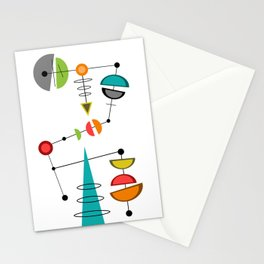 Mid Century Modern  23 Stationery Cards