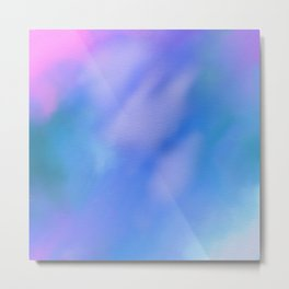 abstract sky in blue Metal Print