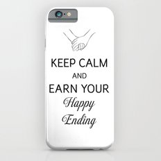 Earn Your Happy Ending [Black] Slim Case iPhone 6s