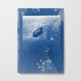 Cyanotype - Tales from the Riverside Metal Print