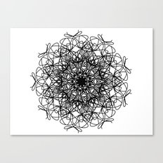 mandala - muse 4 Canvas Print