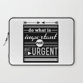 importance Laptop Sleeve