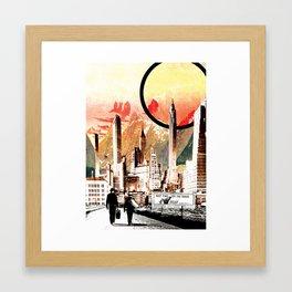 Don't Forget a Towel Framed Art Print
