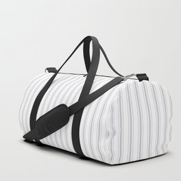Grey Harbour Mist Mattress Ticking 2018 London Fashion Color Duffle Bag