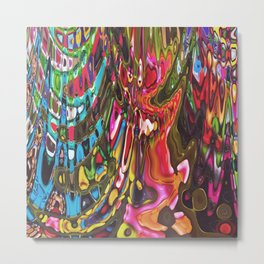 527 - Abstract Sharpie Collection Design Metal Print