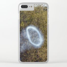 Cannon Smoke Ring Clear iPhone Case