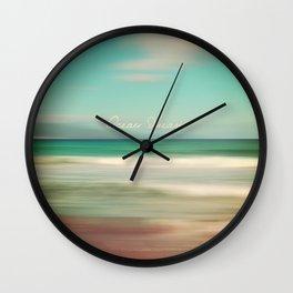 Ocean Dream IV Wall Clock