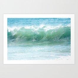 Surf Laguna Art Print