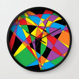 Typical Microsoft Paint Wall Clock