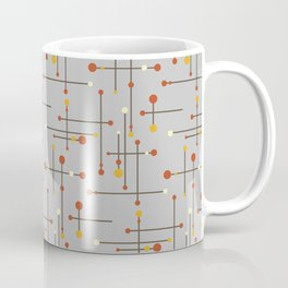 Gray Mid Century Modern Coffee Mug