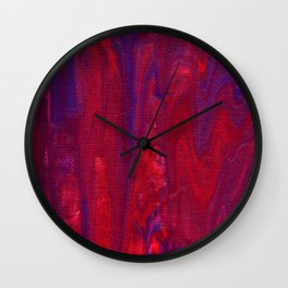 Paint Pouring 10 Wall Clock