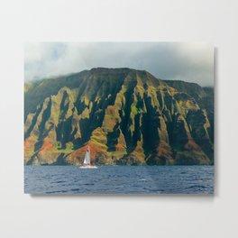 Kauai Coast Metal Print