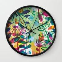 Bloom like a Flower Wall Clock