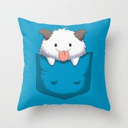 Pocket Poro Throw Pillow