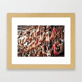 shoe heaven Framed Art Print