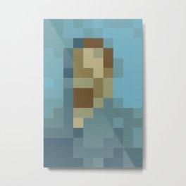 Vinco Minimal Mosaic Metal Print