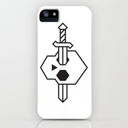 Bone & Blade iPhone Case