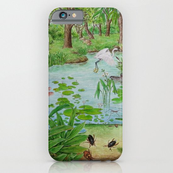 A Day of Forest (4). (the lake ecosystem) iPhone & iPod Case