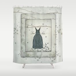 True Love Fairy Dress Shower Curtain