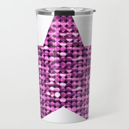 Sparkling Star,pink Travel Mug