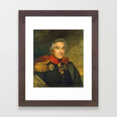 Robert De Niro - replaceface Framed Art Print