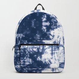 Shibori 6 Indigo Blue Backpack