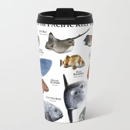 Fish of the Pacific Kelp Forest Travel Mug