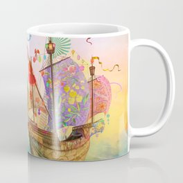 The Dreamship Gallivant Coffee Mug