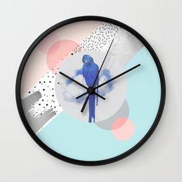 Abstract & bird Wall Clock