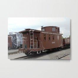 Relic of the Historic Denver & Rio Grande Western NG Railroad Metal Print