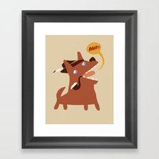 Auf Framed Art Print