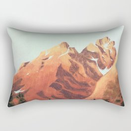 Mountains II Rectangular Pillow