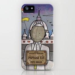 Papaggi XXV from Civitatis Vaticane (Pipe Organ) iPhone Case