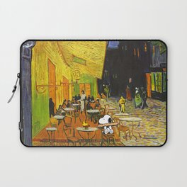 Snoopy meets Van Gogh Laptop Sleeve