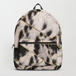 Animal Fur Gold Geometric Glam #1 #geo #decor #art #society6 Backpack