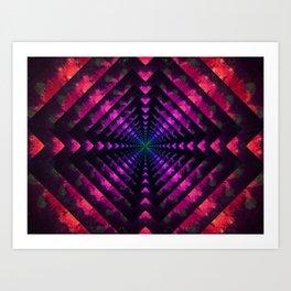 Spectrum Dimension Art Print