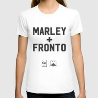 marley T-shirts featuring Marley + Fronto by Elements of Surprise
