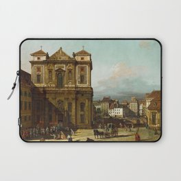 Bernardo Bellotto - The Freyung in Vienna, from the North-West Laptop Sleeve