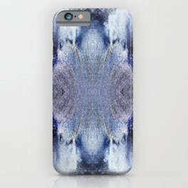 163 - water abstract design iPhone Case