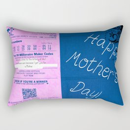 Mothers Day Lottery ticket Rectangular Pillow