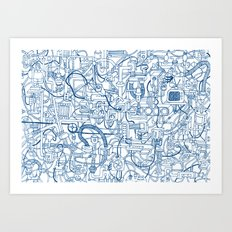 Machine Art Print