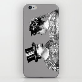 Tattooed Victorian Lovers iPhone Skin