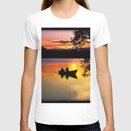 Sunset Fishing T-shirt