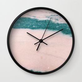 Pastelle Marble Wall Clock