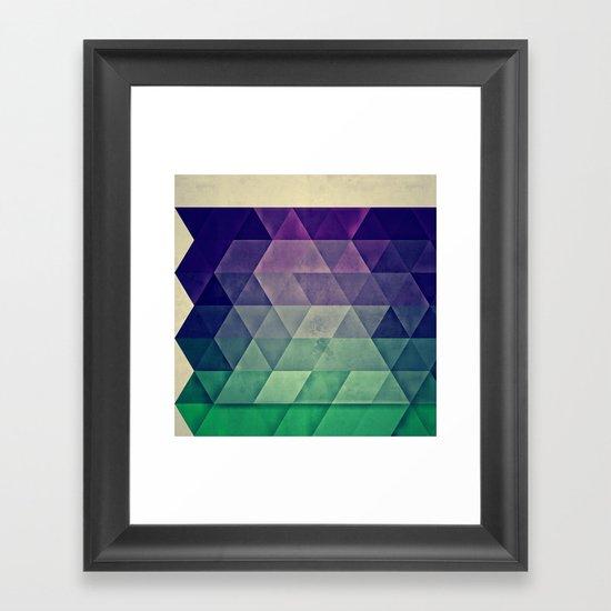 WYTR_CLYR Framed Art Print